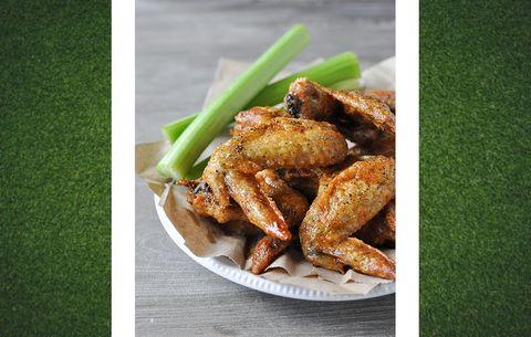 baked crispy wings
