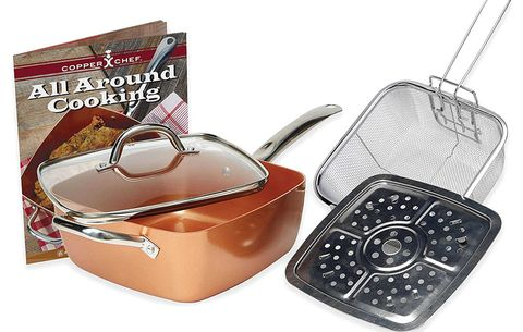 Copper Chef Pan and 5 Piece Set