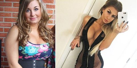 This Fitness Model Lost 56 Pounds By Transforming Her Lifestyle