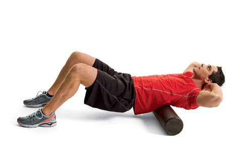 foam rolling lower back