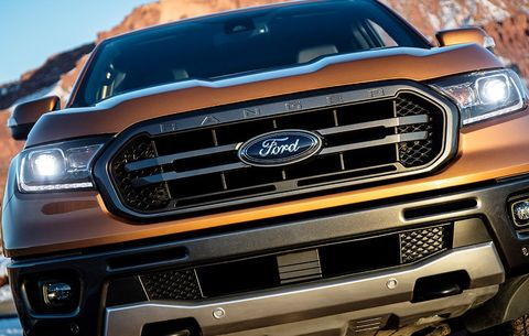 Detroit Auto Show 2019 Ford Ranger Debut Men S Health