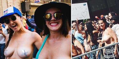 Free Nipple March