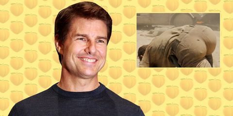 Tom Cruise Butt
