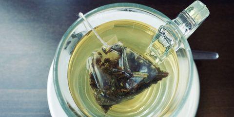 green tea helps sensitive teeth