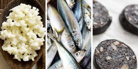 gross healthy foods