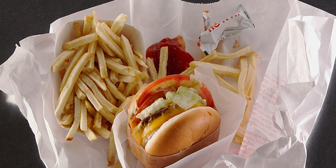 harmful chemicals fast food wrappers