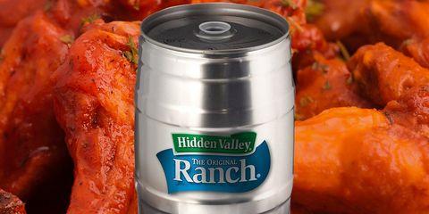 hidden valley ranch keg