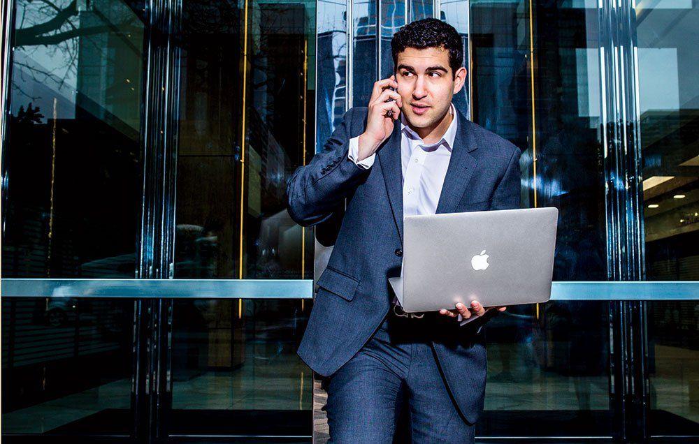 Jake Newfield, 26, Salesman, Enterprise Cloud Technology, Cloudera