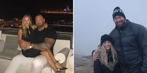 how the mountain and girlfriend kiss