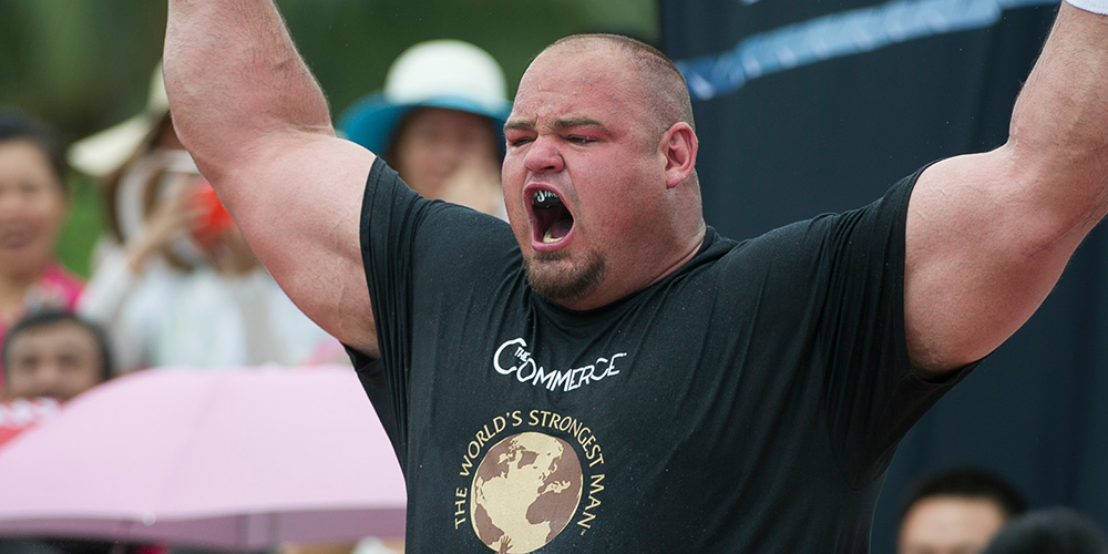 This Is the World's Strongest Man's 12,000 Calorie Diet ...