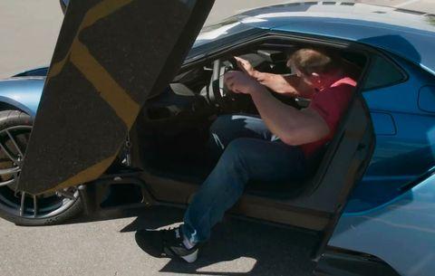 John Cena Ford Gt Super Car
