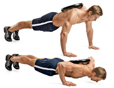 3 Weighted Pushup Adding Weight To The Classic Exercise