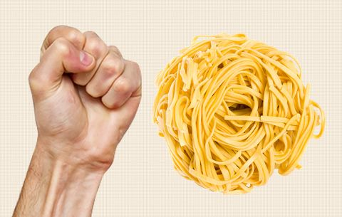 serving size of pasta
