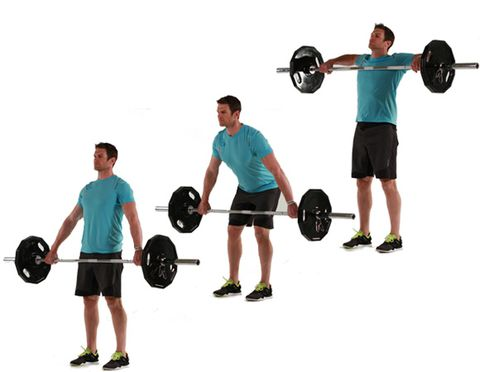 Snatch Grip Barbell High Pull