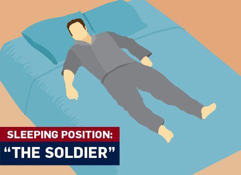 The Best Sleep Positions Men S Health Com