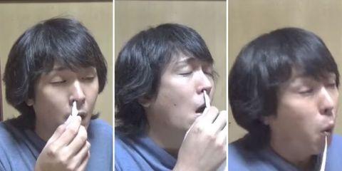 man sneezes 300 times