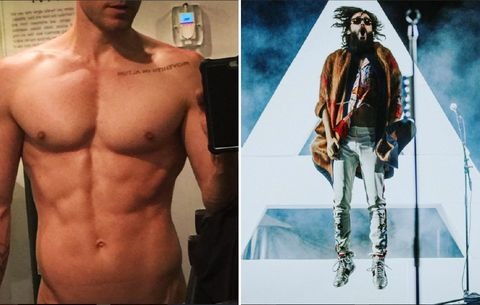Jared Leto's Insane Six-Pack Will Make You Want to Get to Work Immediately