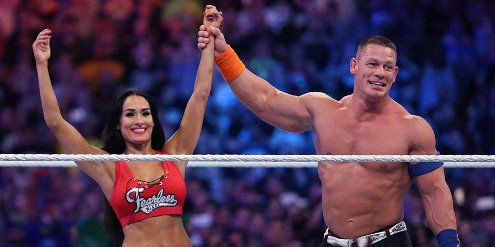 John Cena Describes His High-Stakes Wrestlemania Proposal To Nikki Bella  Mens Health-3439