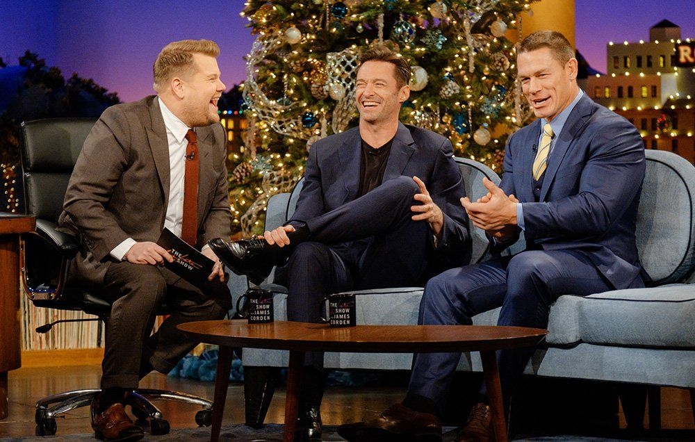 John Cena Teaches Hugh Jackman How To Reverse Trash Talk | Men\'s Health