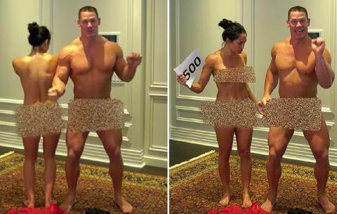 John Cena Nikki Bella Strip Nude