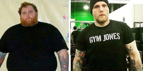 jon orton weight loss
