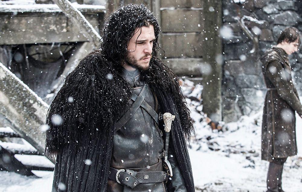 Jon Snow Wears IKEA Rugs on 'Game of