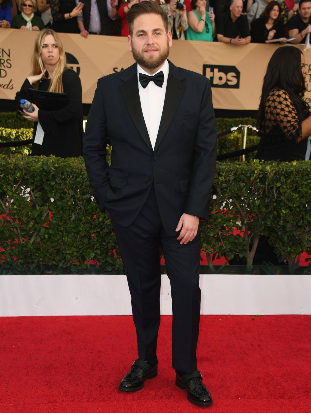 Jonah Hill Shows Off His Weight Loss (Again) At SAG Awards
