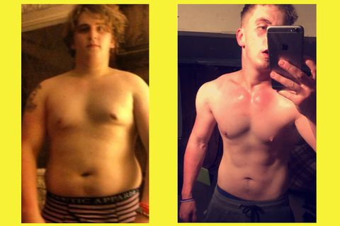 6 Overweight Guys Who Lost 70 Pounds And Got Ripped Tell You How They Did It Men S Health