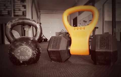 You'll Never Skip Your Kettlebell Workout Again Thanks to This Gear