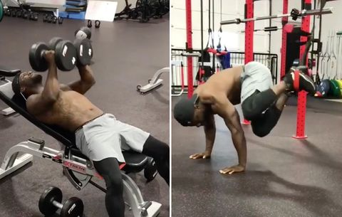 Can You Handle Kevin Hart's Extreme Upper Body Workout?