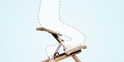 why you should get a kneeling chair for your back pain men s health