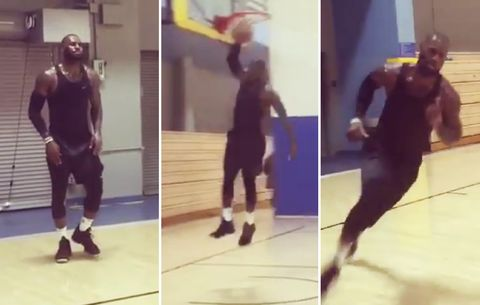ef0ccba0b7f LeBron James  Latest Workout Video Will Leave You Out of Breath ...