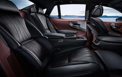 The Interior Of The 2018 Lexus Ls 500 Is Beautiful Men S Health