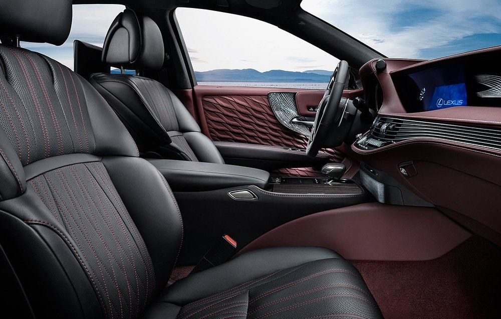 The Interior Is Impressive, But So Is The 3.5 Liter Twin Turbo V 6 Lurking  Under That Beautiful Bonnet. This Is A Departure For Lexus, Who Has Always  ...