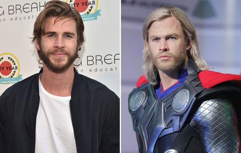 LIAM HEMSWORTH for thor's role