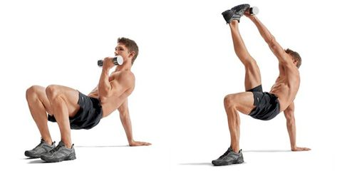 how to get fit with 10 pound dumbbells men s health