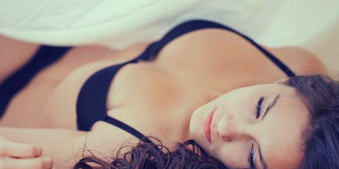 make your girlfriend feel better about herself in bed