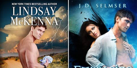 man been on more novel covers than fabio