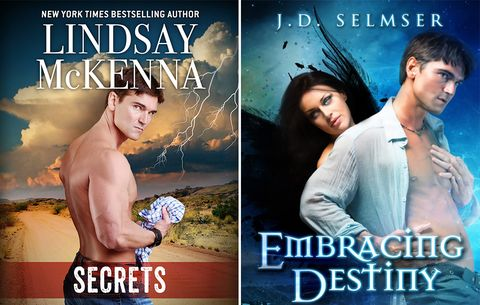 How This 'Men's Health' Reader Got On More Romance Novel Covers Than Fabio