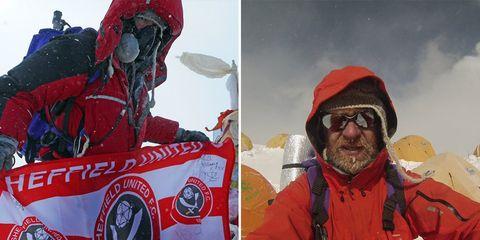man first cancer patient to climb mount everest
