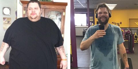 man lost 458 pounds to impress love of life