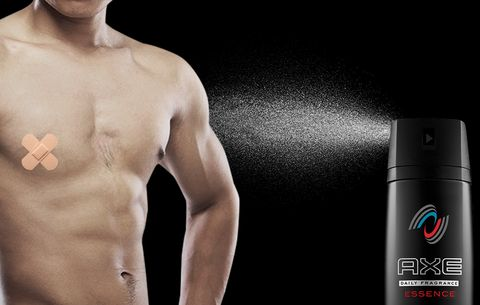 Can You Burn Your Nipple Off With Axe Body Spray?   Men's Health