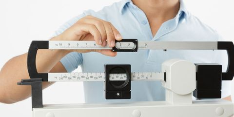 regaining weight