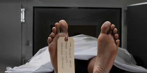 man slept next to dead wife for days