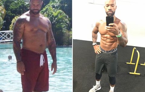 How This Guy Lost Nearly 60 Pounds and Transformed His Gut Into a Six Pack