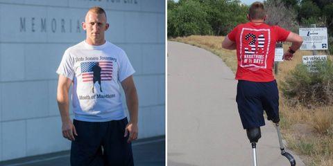 rob jones 31 marathons in 31 days