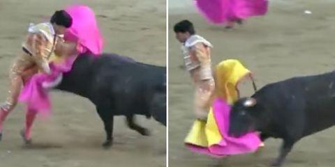 matador gored to death
