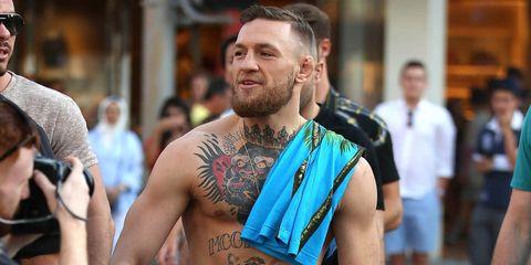 Conor McGregor Wealth Belly