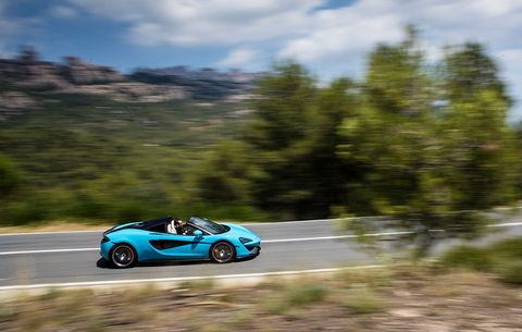 First Drive And Review 2018 Mclaren 570s Spider Mens Health