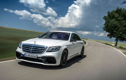 2018 mercedes-amg s63 s-class review and first drive | men's health